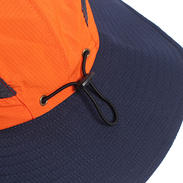 Men Women Summer Breathable Fisherman Cap Foldable Wide Brim Sunscreen Bucket Hat