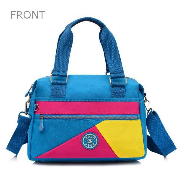 Women Nylon Light Tote Handbags Casual Outdoor Travel Shoulder Bags Crossbody Bags