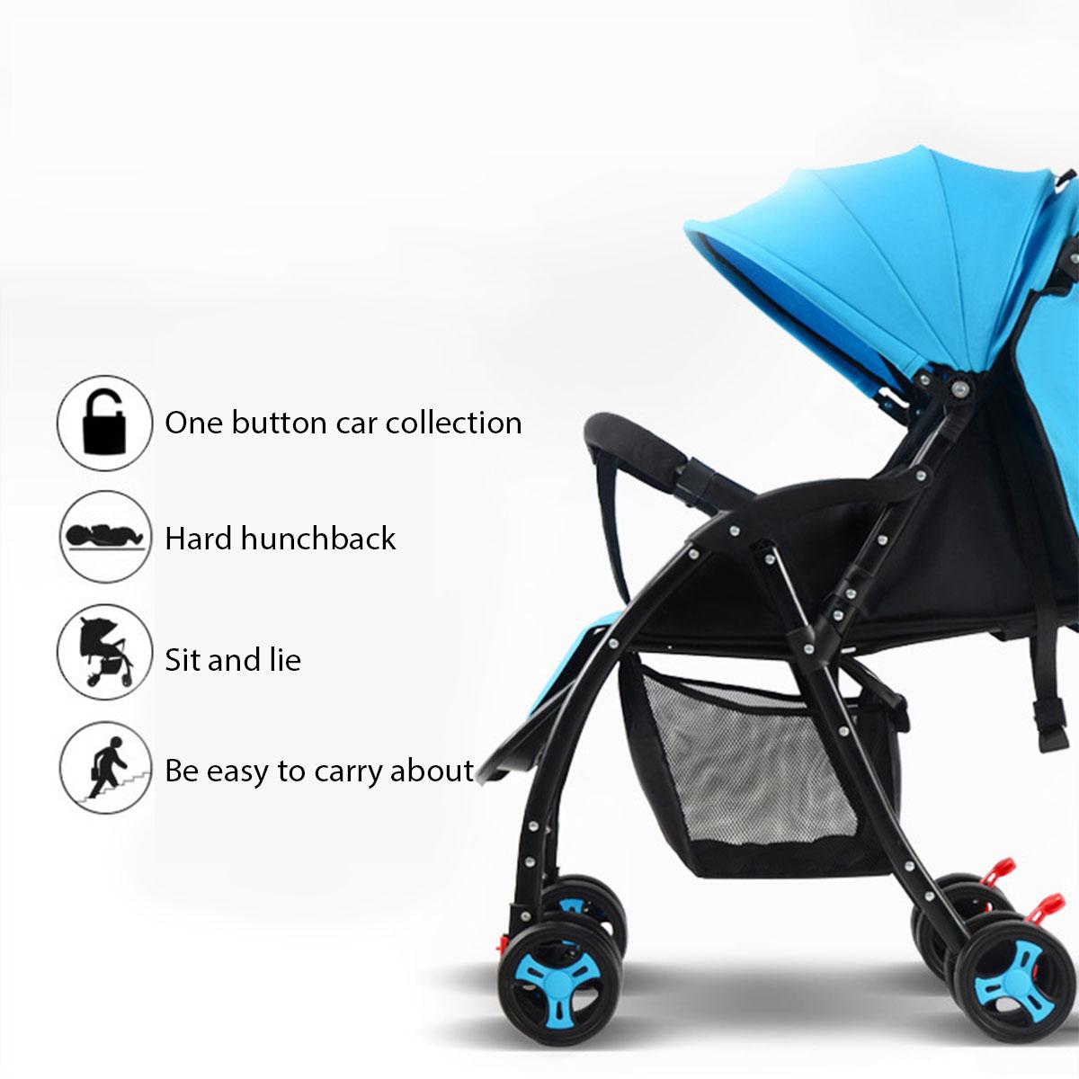 pliable b b enfants poussette nouveau n infantile poussette poussette voyage landau l ger. Black Bedroom Furniture Sets. Home Design Ideas