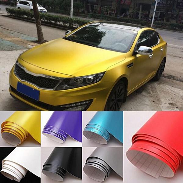 150cmX30cm Car Matte Color Vinyl Film Wrap Sticker Decal