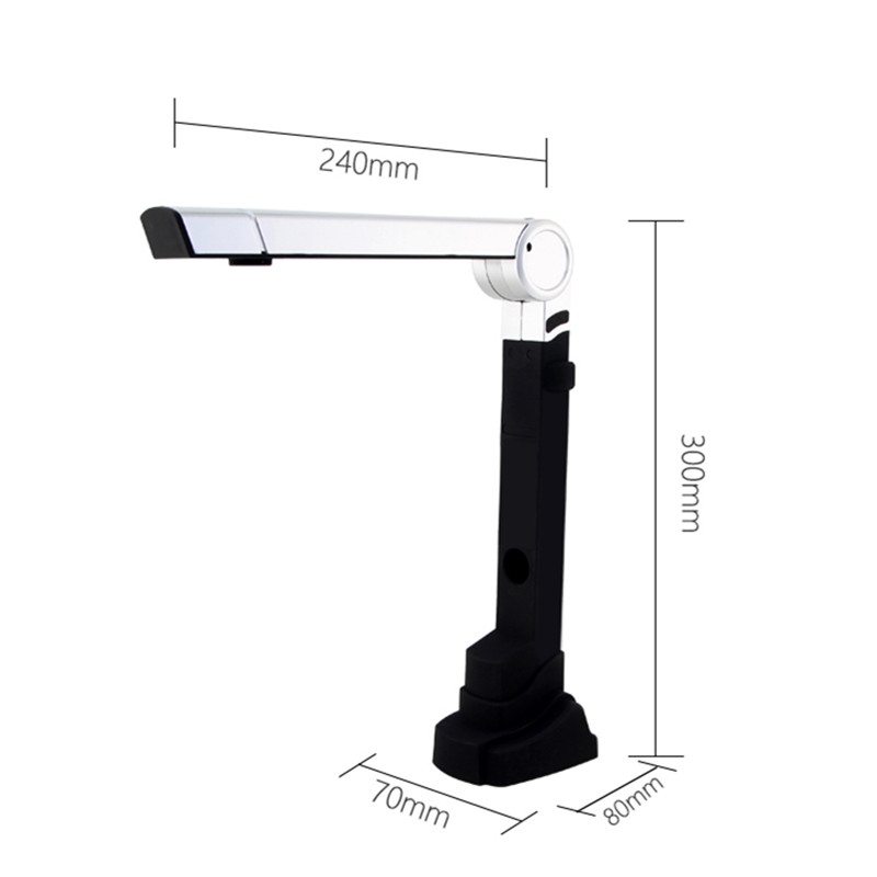 NETUM Folding 10 million pixels Document Scanner Camera File Scanning Super Speed For Office