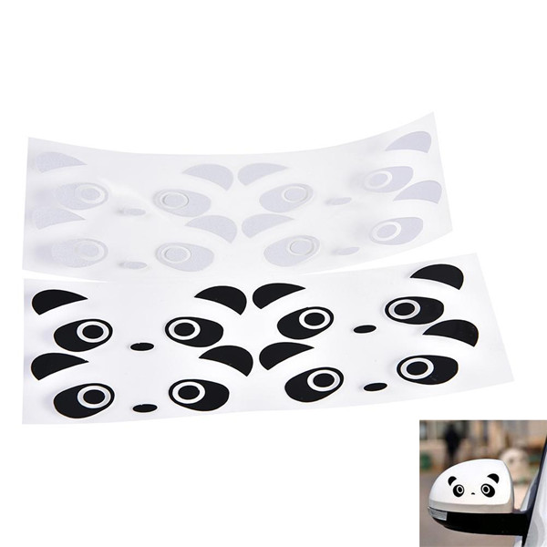 Panda Eyes Personalized Car Stickers Auto Truck Vehicle Motorcycle Decal