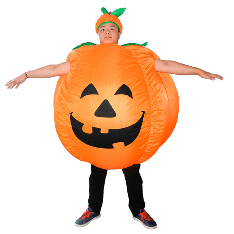 Pumpkin Inflatable Costume Carnival Party Fancy Animal Clothing For Adults