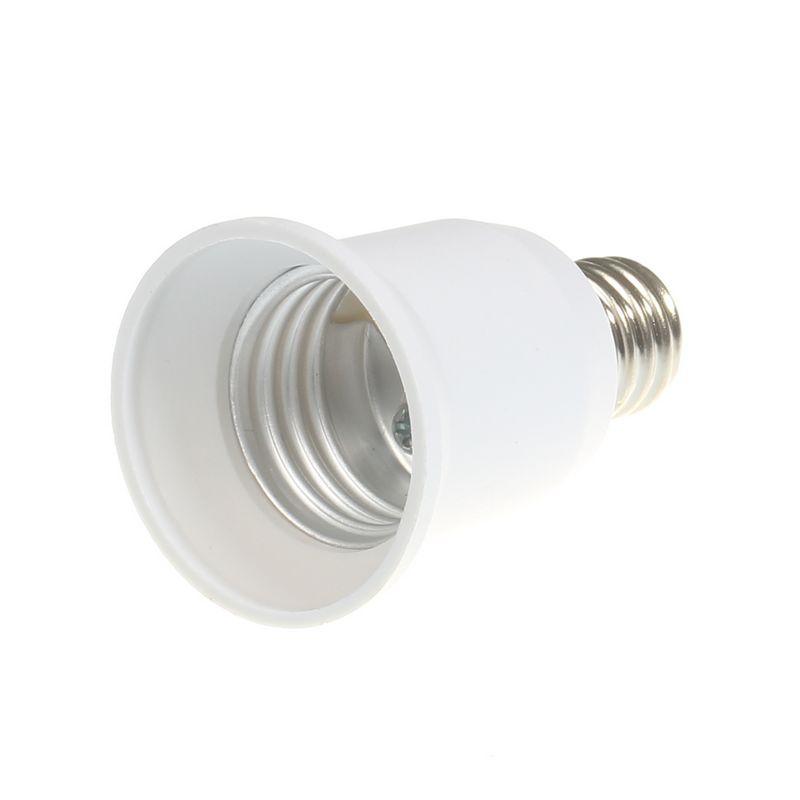 E17 To E26/E27 Base LED Light Lamp Holder Bulb Adapter PBT Converter Socket
