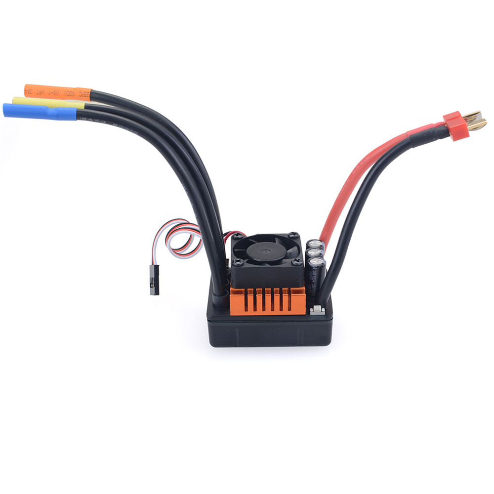 ZD 8272 120A Brushless Sensorless ESC For 1/8 9116 RC Car Parts - Photo: 2