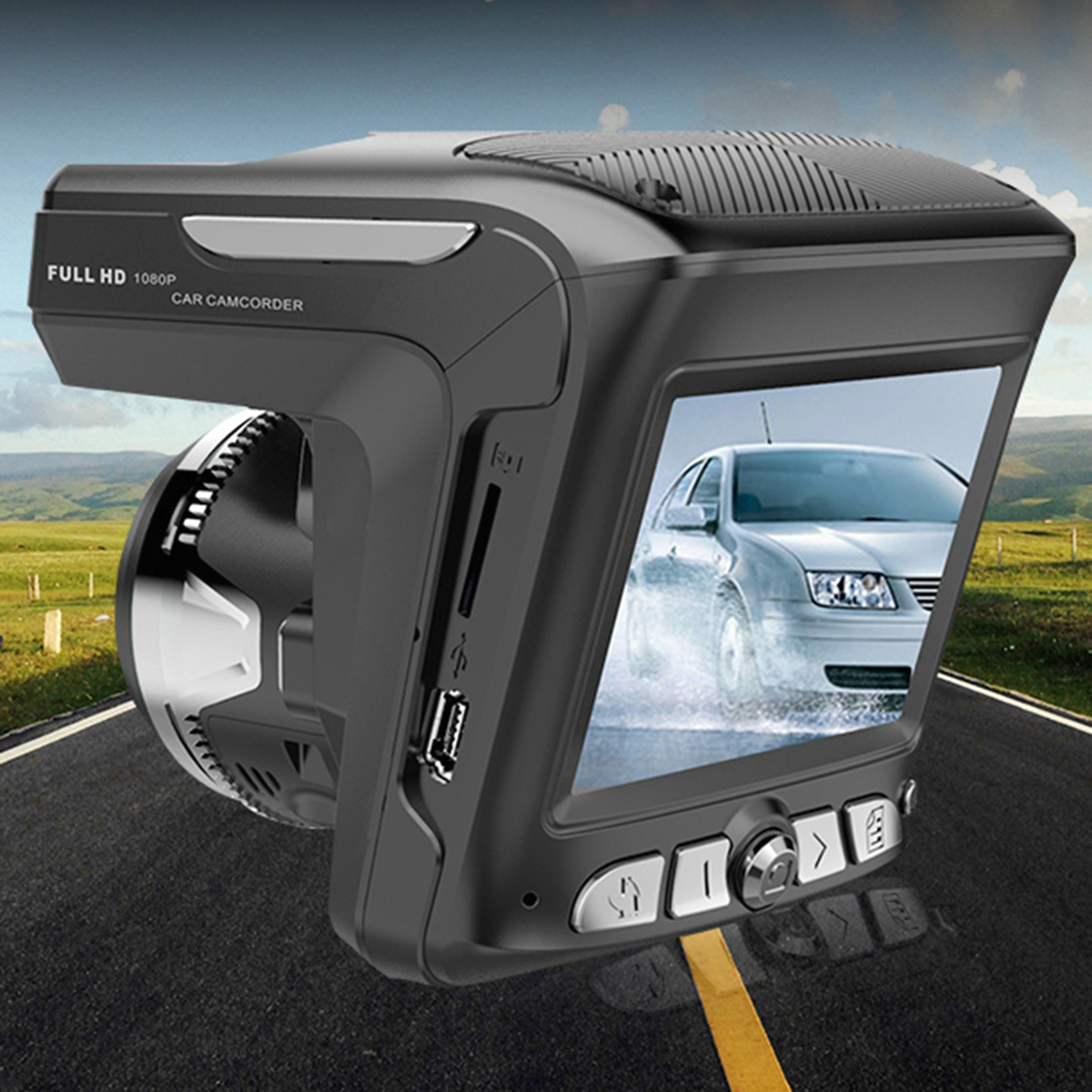 2.4 Inch LCD HD Car DVR Camera IR Night Vision Video Tachograph G-sensor Cam Recorder