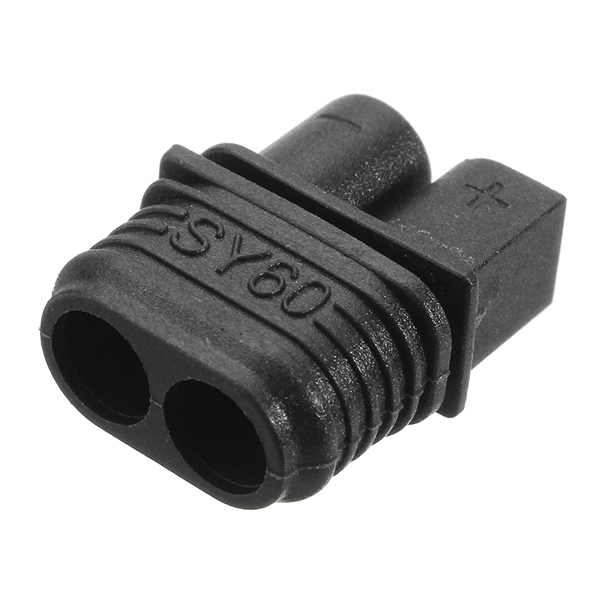 10X SY60 Plug Connector With Sheath Housing Male & Female Compatible Amass XT60