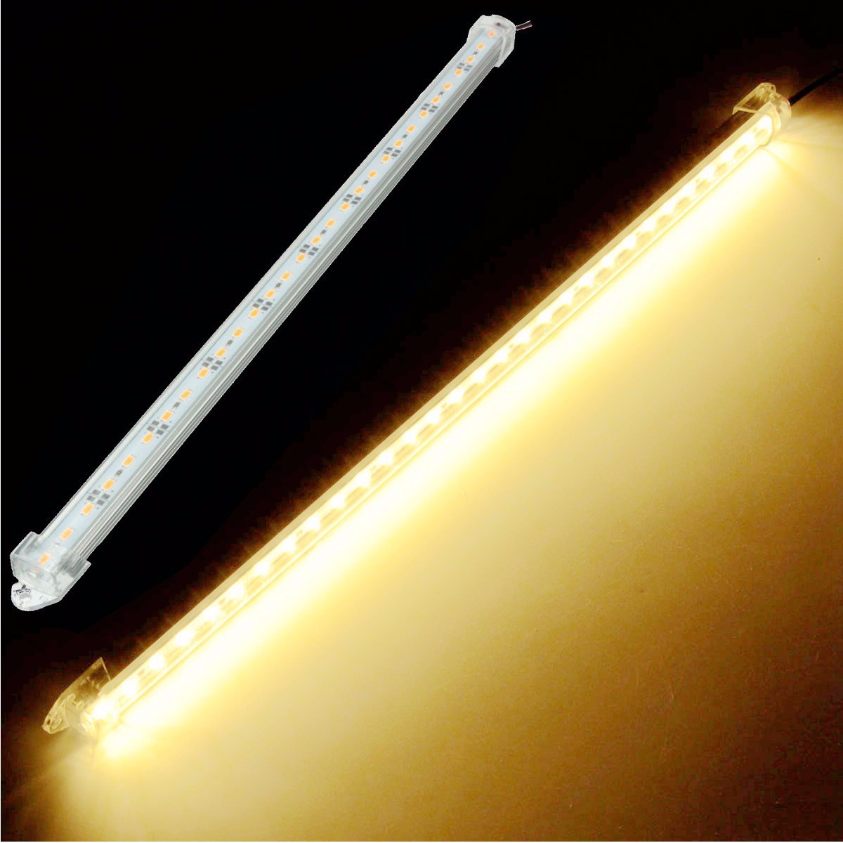 12V 40cm Car 30 LED SMD Interior Light Strip Bar Lamp Van Caravan LWB Tank
