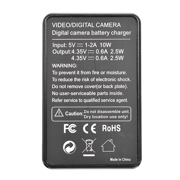 SJ Camera Dual USB Port Battery Charger LCD Visible Screen For SJ4000/5000/6000/7000/9000/M10/F68