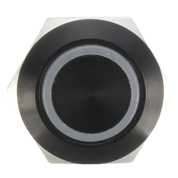 12v 4 Pin 12mm Led Light Metal Push Button Momentary Switch Waterproof Black