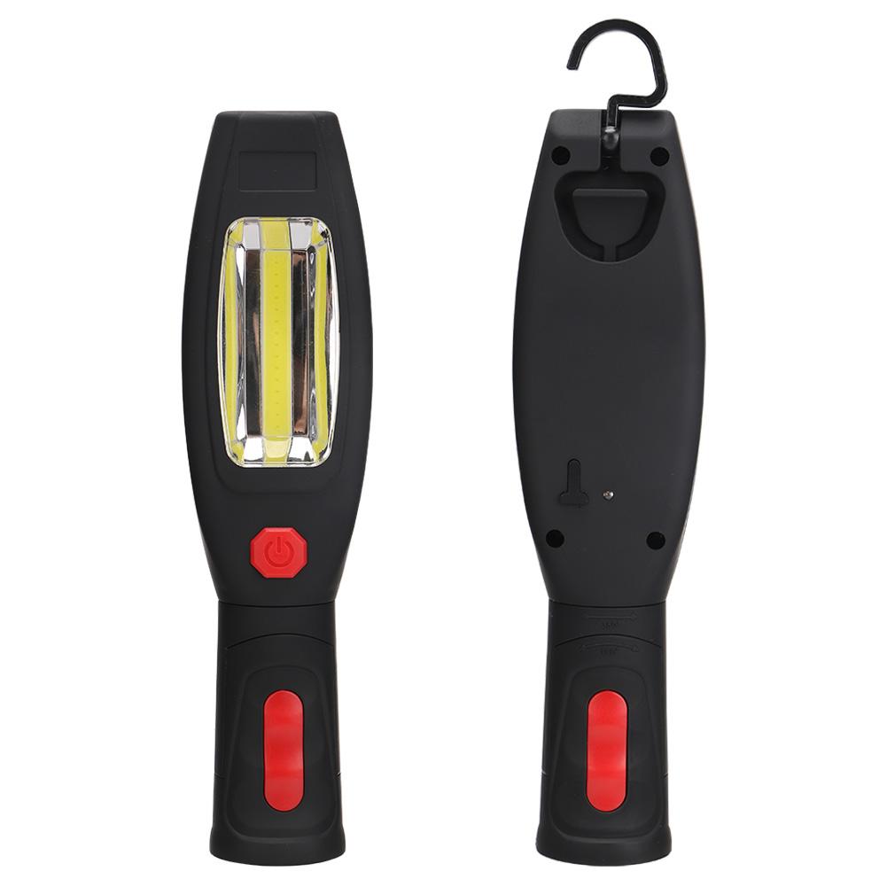 XANES CL12 COB+LED Dual Light 180° Rotated Magnatic Base Multi-function Flashlight Work Light