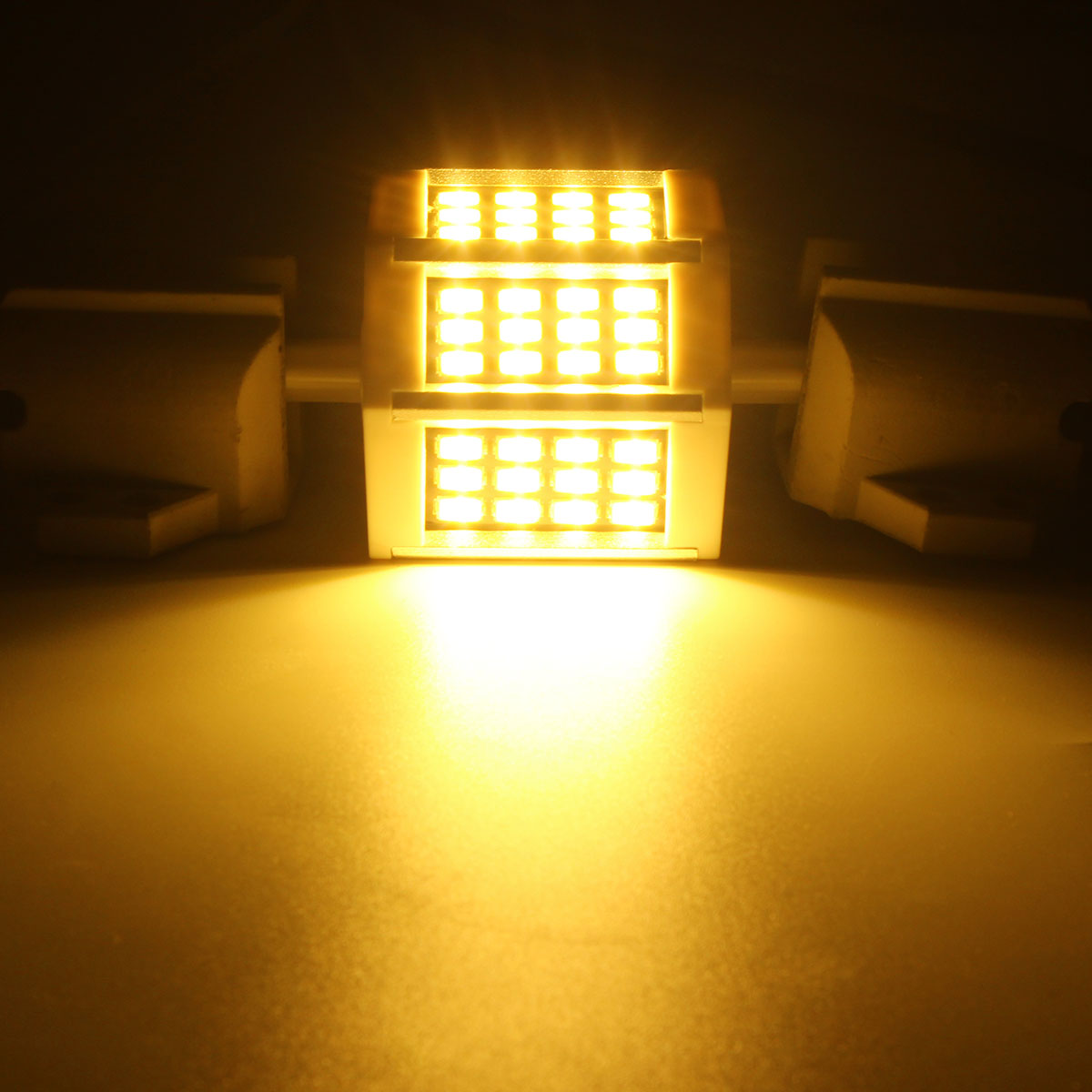78MM Non-dimmable R7S SMD5733 Warm White Pure White 36 LED Light Bulb AC110V AC220V