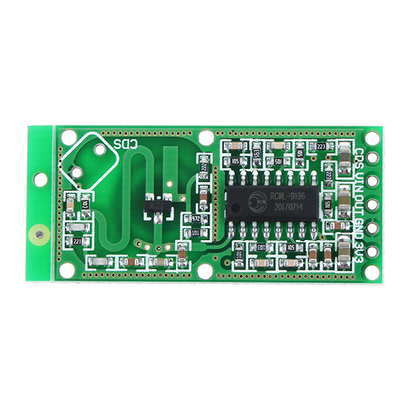 20Pcs RCWL-0516 RCWL 0516 Microwave Radar Sensor Human Sensor Body Sensor Module Induction Switch Module Output 3.3V