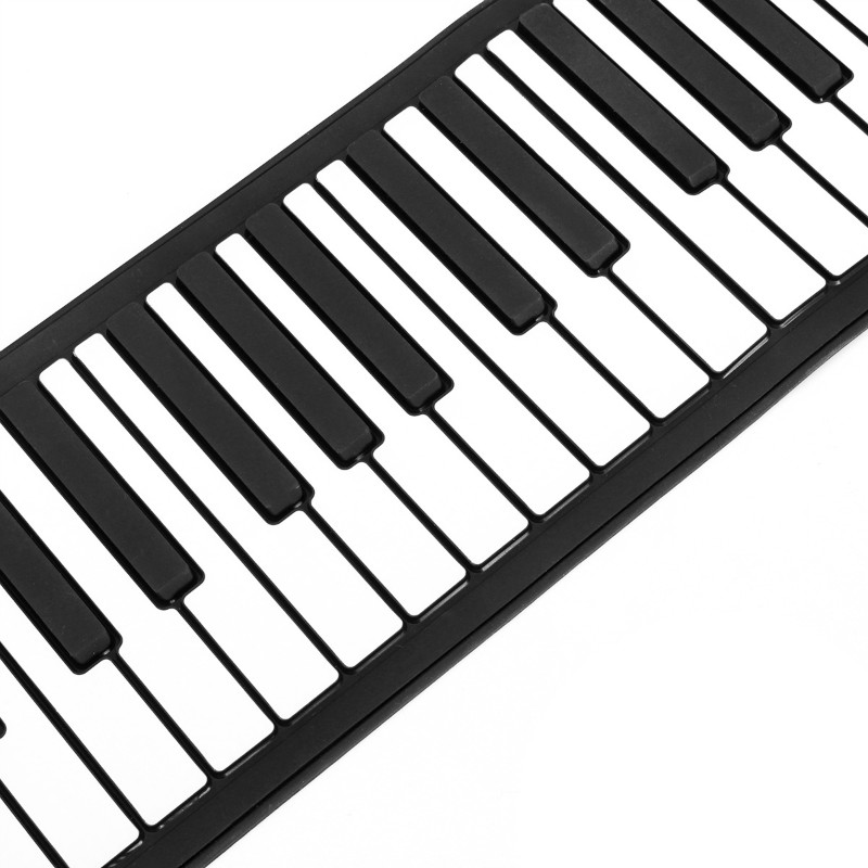 Portable 61 Keys USB MIDI Flexible Roll Up Electronic Piano Music Keyboard