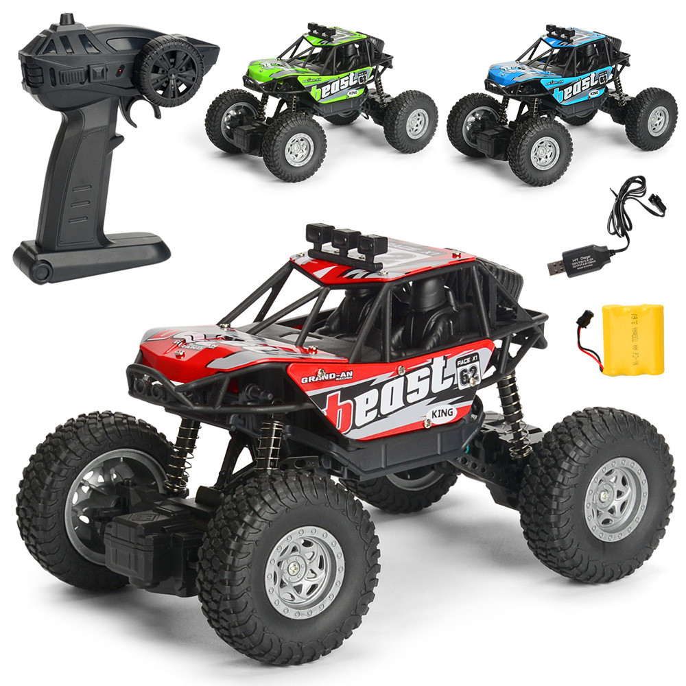 1PC MG A601 1/20 2.4G 4WD 15km/h Rc Car Rock Crawler Climbing Off-road Truck RTR Toy - Photo: 4