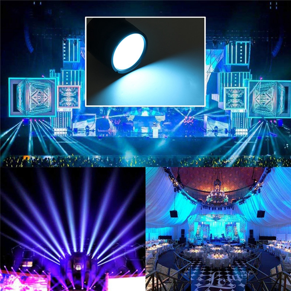 60W 169 RGBW LED Stage Light Bar Party Show Laser Projector Lamp with Remote Controller