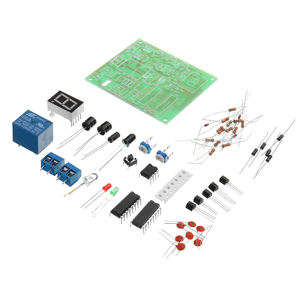 DIY Object Flow Counter Kit Digital Infrared Ray Counting Module Kit