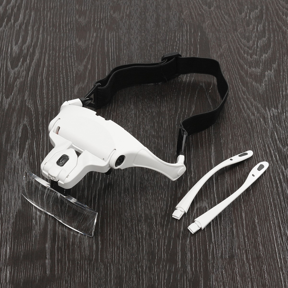 1X 1.5X 2X 2.5X 3.5X Headband Headset Jeweler Magnifier Magnifying Glass Loupe Glasses with LED Light