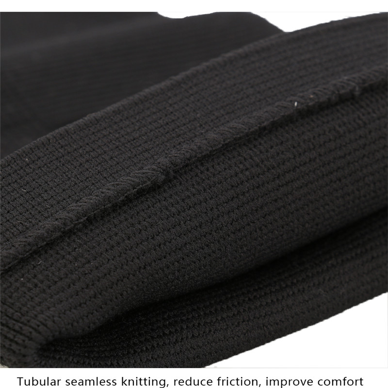 1pc A04 Classic Red Black Color Knitting Keep Warm Sports Knee Pad