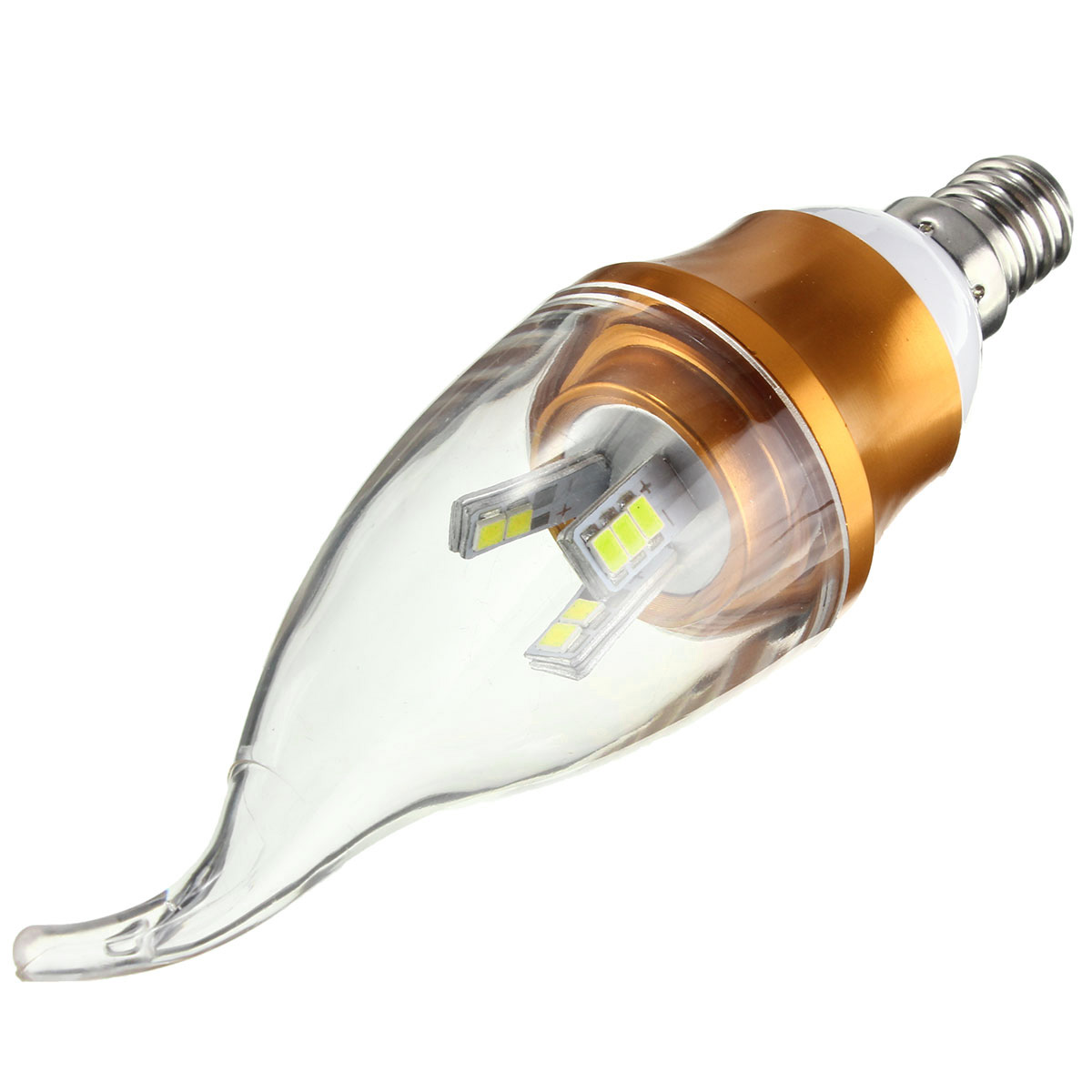 Dimmable E27 E14 E12 B22 B15 3W 15 SMD 2835 LED Pure White Warm White Pull Tail Bulb AC220V