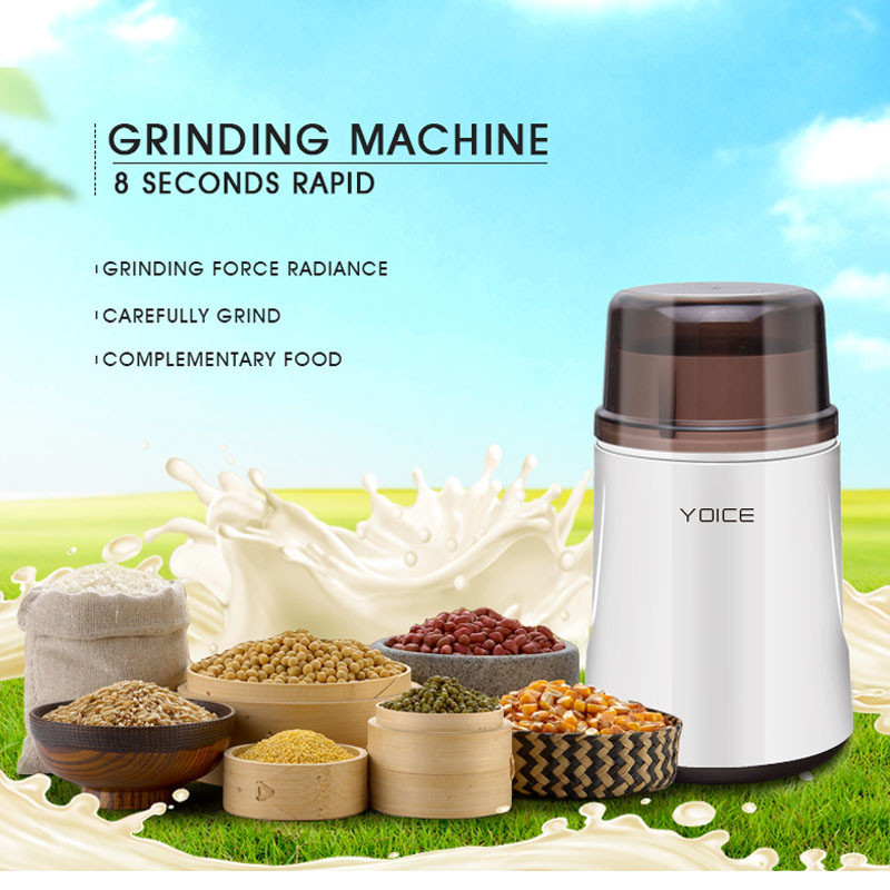 Multifunctional Chinese Medicine Food Coffee Grinding Household Powder Grinder Machine