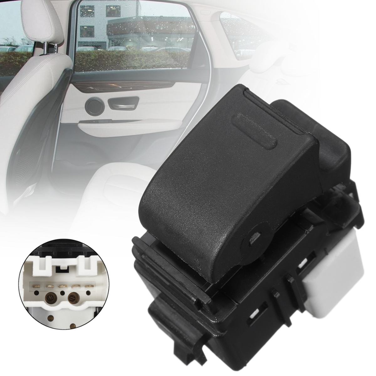 Passenger Electric Power Window Control Switch for Toyota Prius Corolla 1993-09
