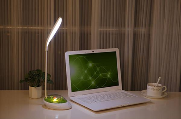 LED Landscape Table Lamp USB Touch Dimmable Adjustable Brightness Eye Protection Reading Light