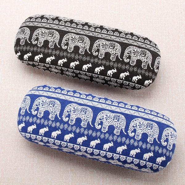 Portable Elephant Designed Reading Glasses Eyeglasses Sunglasses Case Protector Box
