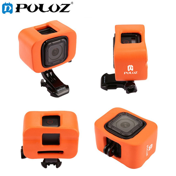 PULUZ Surfing Float Back Door Floaty Mount Housing Cover Case for Gopro Hero 5 4 Session