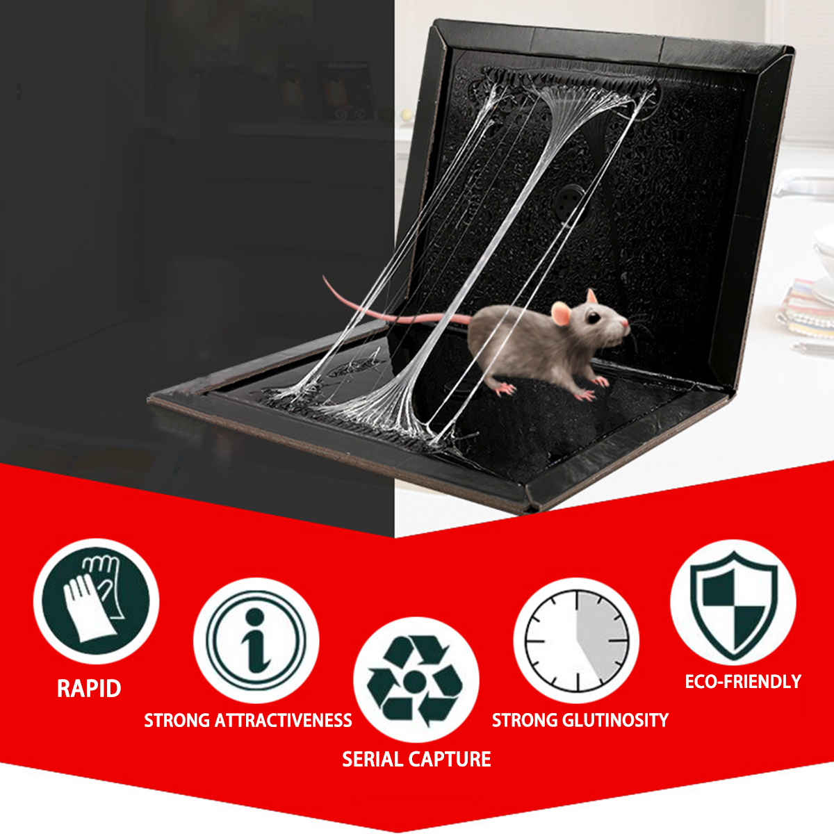 Anti Rat Magic Board Mouse Mice Rat Insect Pest Glue Trap
