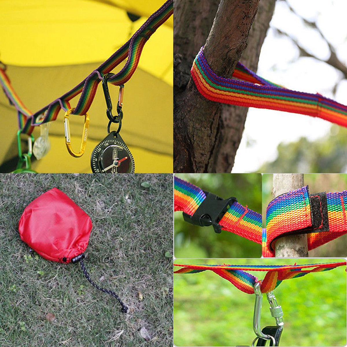 Colorful Tent Hang Lanyard Tent Rope Cord For Outdoor Camping Hiking Garden Accessories
