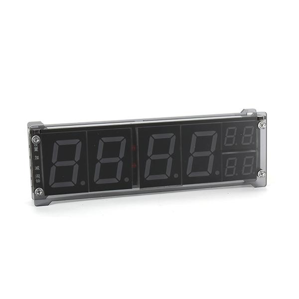 3Pcs/5Pcs/10Pcs Simple Vehicle Clock Thermometers Led Digital Tube LED Luminous Character Clock