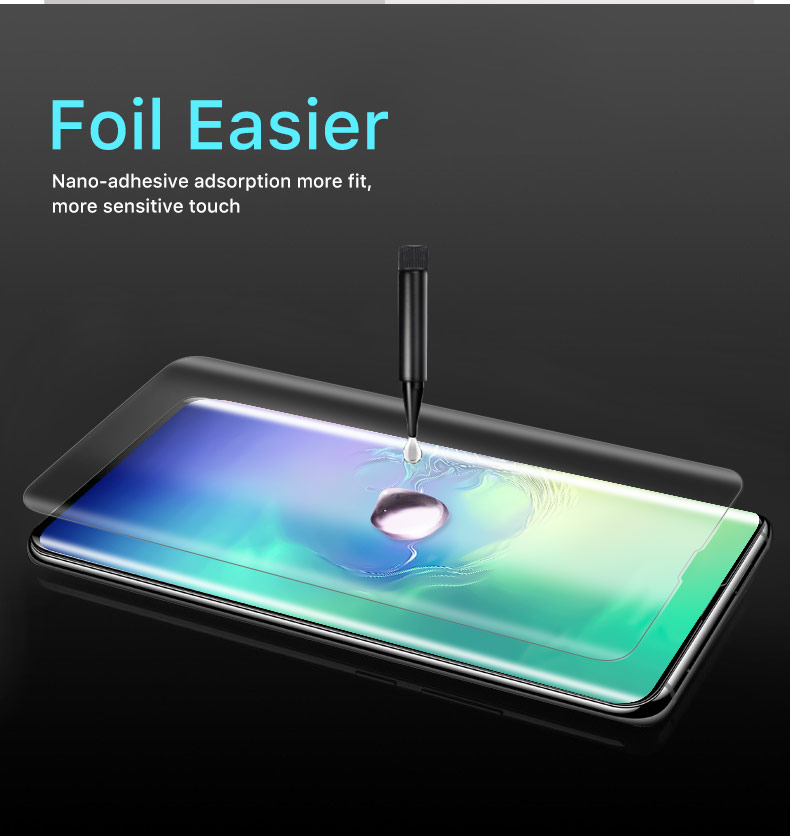 Bakeey Full Glue Tempered Glass Screen Protector For Samsung Galaxy S10e 3D Curved Edge Film