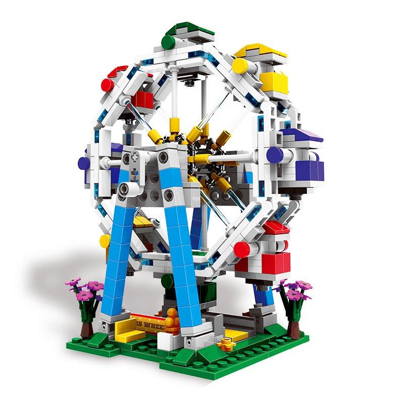 XINGBAO Merry Go Around Building Block Educational Gift Fidget Toys 660Pcs