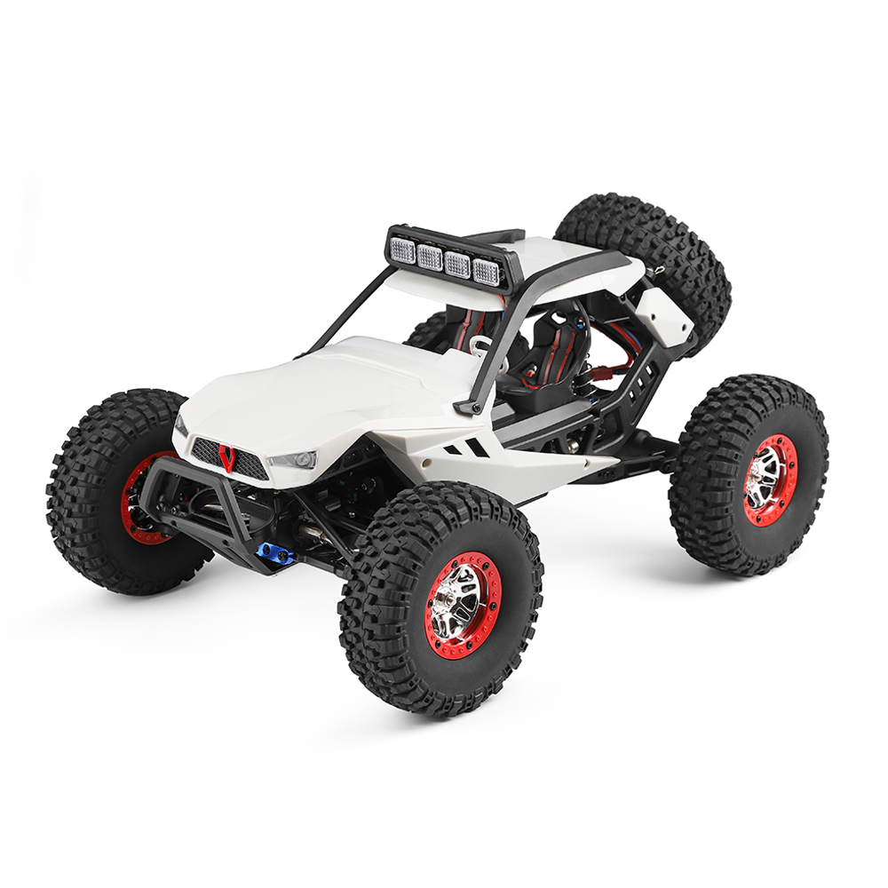 Wltoys 12429 1/12 2.4G 4WD High Speed 40km/h Off-Road On-Road RC Car Buggy With Head Light