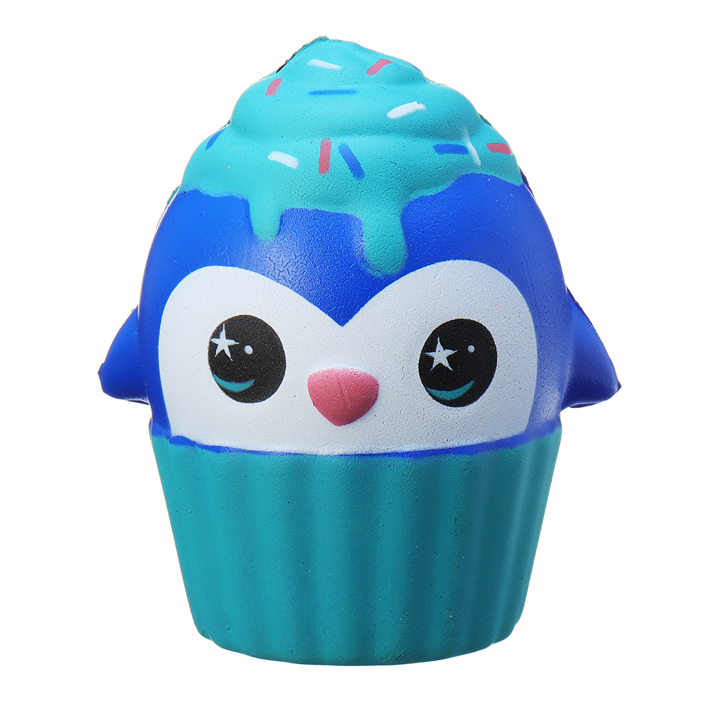 Squishy Cute Penguin Ice Cream Cup Squeeze 10*9cm Slow Rising Toy With Packaging Collection