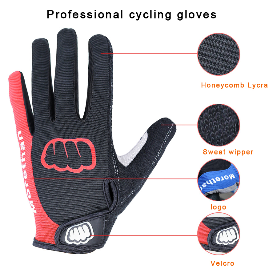 Outdoor Unisex Winter Cycling Ski Gloves Full Finger Anti Slip Warm Touch Screen