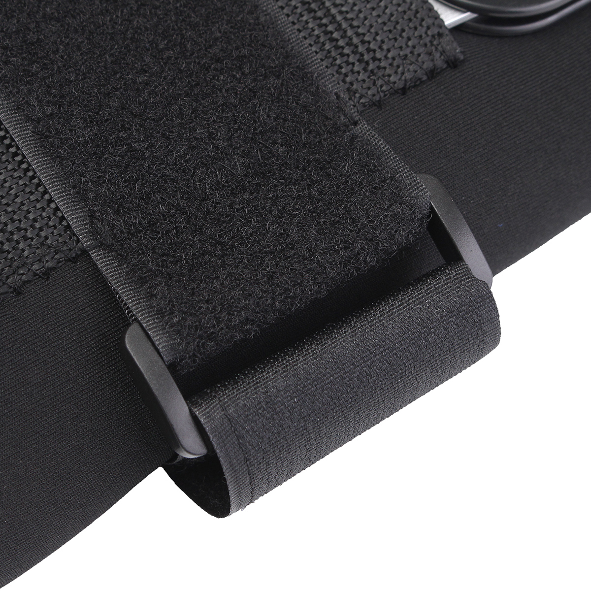 Sports Adjustable Knee Pad Thigh Knee Support Brace Strap Wrap Bandage Pain Injury Relief