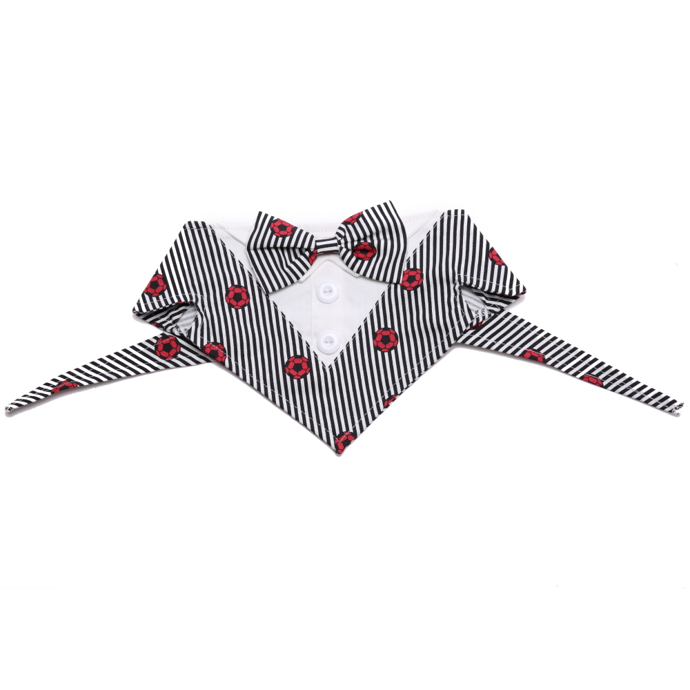 Pets Dog Cat Formal Neck Ties Tuxedo Bow Tie and Collar