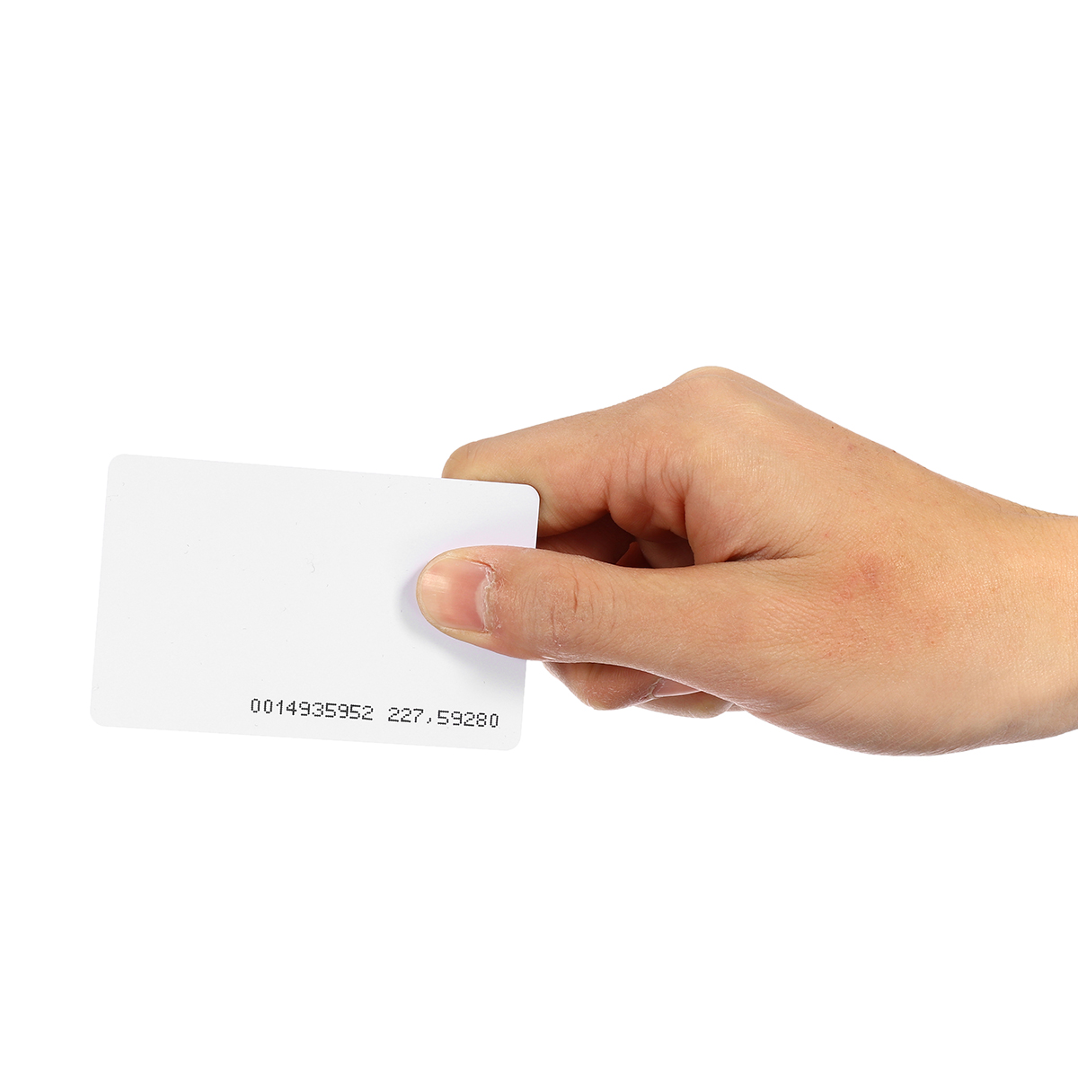 125KHz RFID Smart ID Card Key White Blank for Door Lock Access Control System