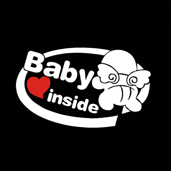 19x11cm Baby on Board Reflective Car Stickers Auto Truck Vehicle Motorcycle Decal