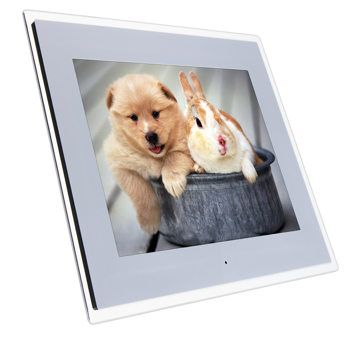 15 inch HD Digital Photo Frame Gallery Advertising Machine With 8G SD Card