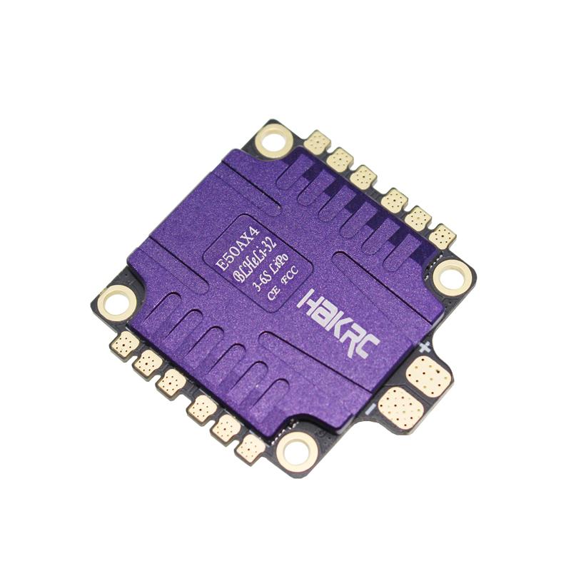 HAKRC E50AX4 50A 4 IN 1 ESC 3-6S BLHeli_32 5V 3A BEC Ds