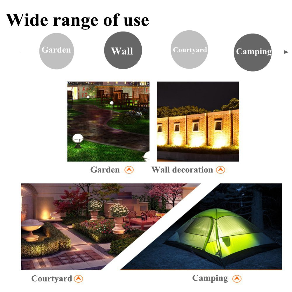 ARILUX Four Modes LED Stage Light with Flame Effect Rechargeable DJ Night Light Party Lamp Decor
