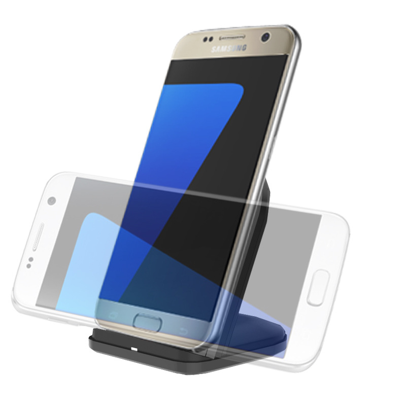Qi Wireless Charger Fast Charger Holder Dock For Samsung Galaxy S8 Plus S6 edge Plus S7 S7 Edge