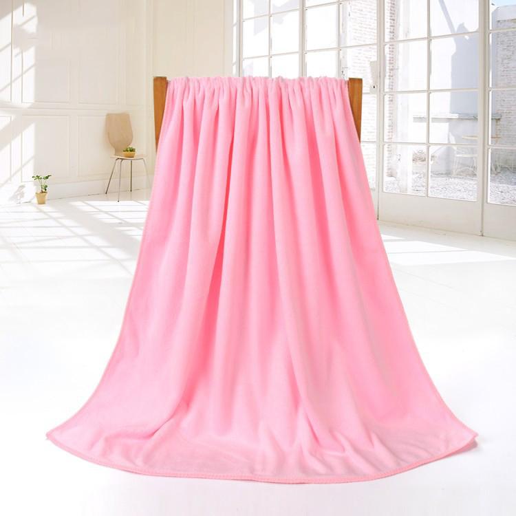 Honana BX-R973 Bathroom Big Towel Fiber Soft Beach Spa Thicken Super Absorbent Shower Bath Towel 80*180 cm