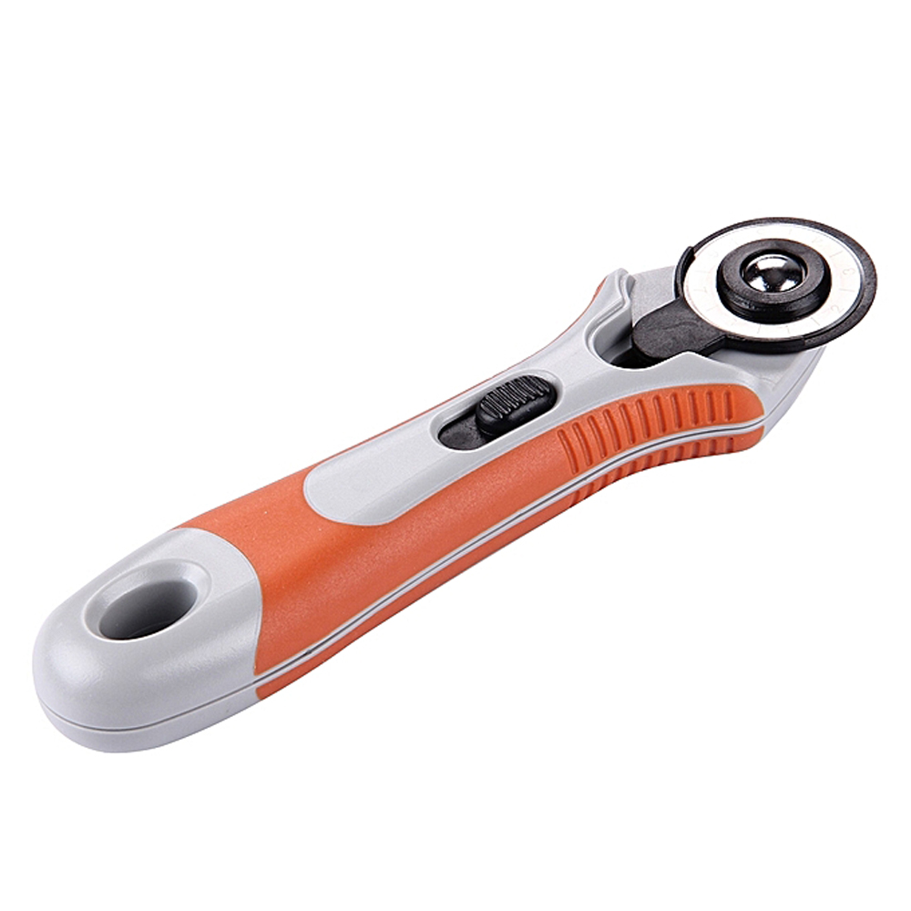DAFA RC-6 28mm Dia Blade Straight Handle Rotary Cutter with Safeguard for RC Model