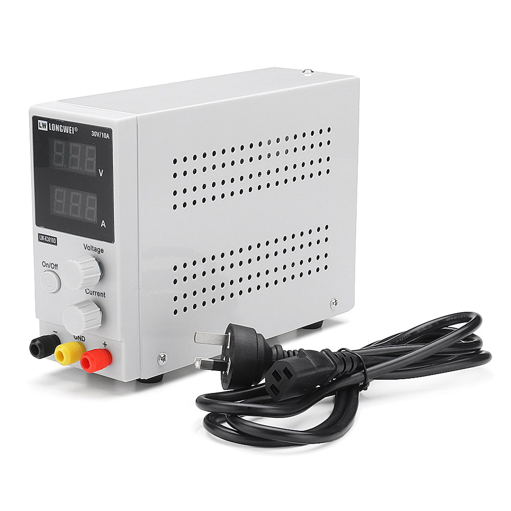 LONG WEI LW-K3010D 110V/220V 30V 10A Adjustable Digital DC Power Supply Switching Power Supply