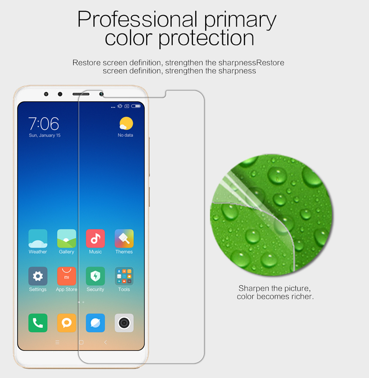 Nillkin Super Clear High Definition Soft Screen Protector for Xiaomi Redmi 5 Plus