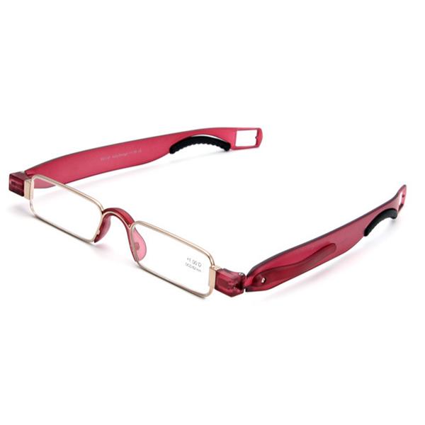 Men Women Portable 360 Rotation Folding Reading Glasses